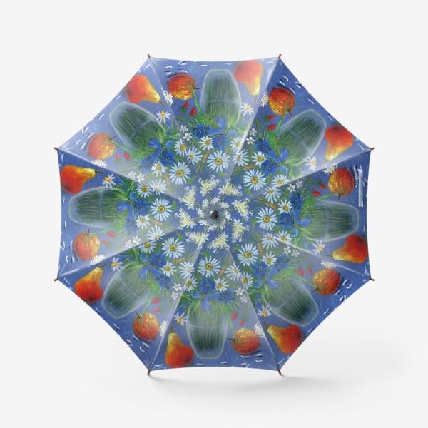 Зонт «Букет ромашек»