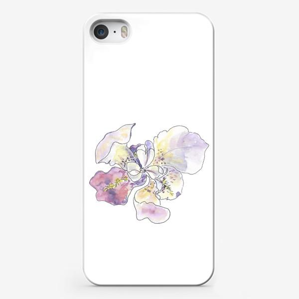 Чехол iPhone «Цветочное настроение. Ирис во всей красе.»