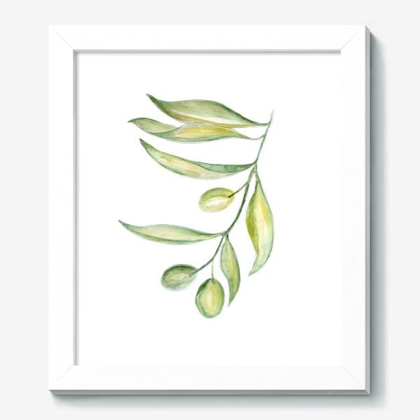 Картина «Оливковая ветвь. Сила природы.»