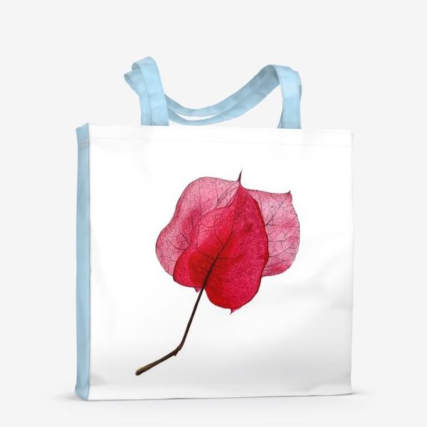Сумка-шоппер «Розовый цветок бугенвиллея»