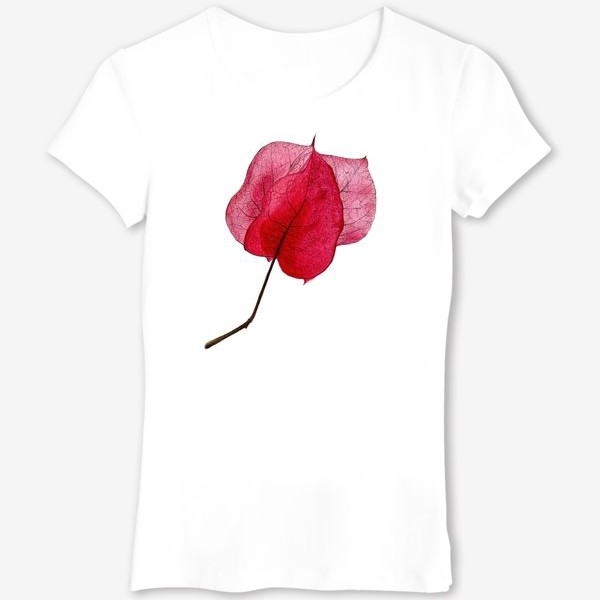 Футболка «Розовый цветок бугенвиллея»