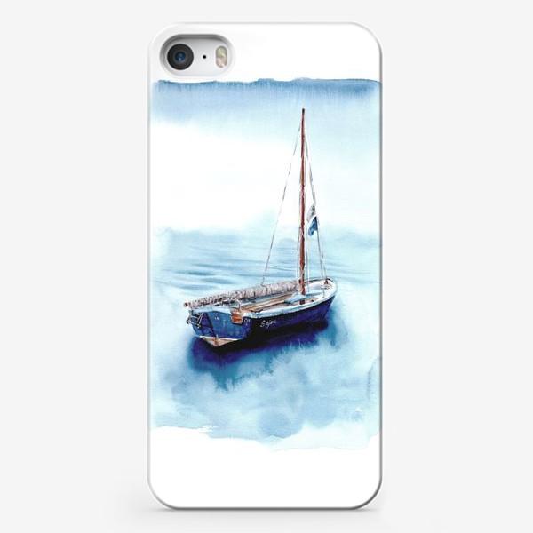 Чехол iPhone «Лодка уходит в море»