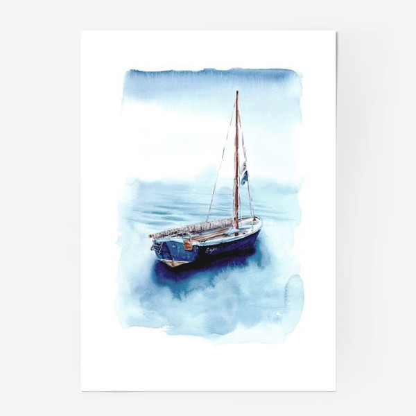 Постер «Лодка уходит в море»