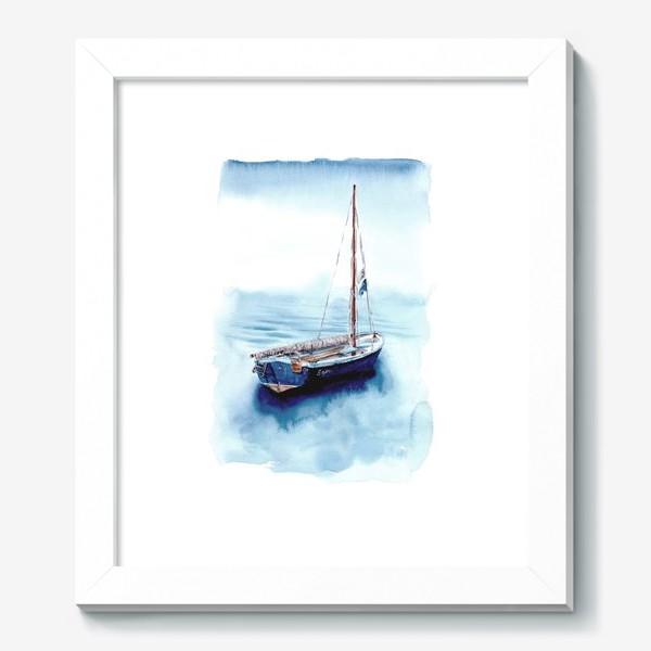 Картина «Лодка уходит в море»