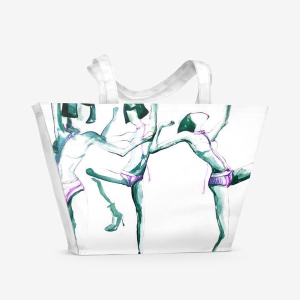 Пляжная сумка «Танцы»