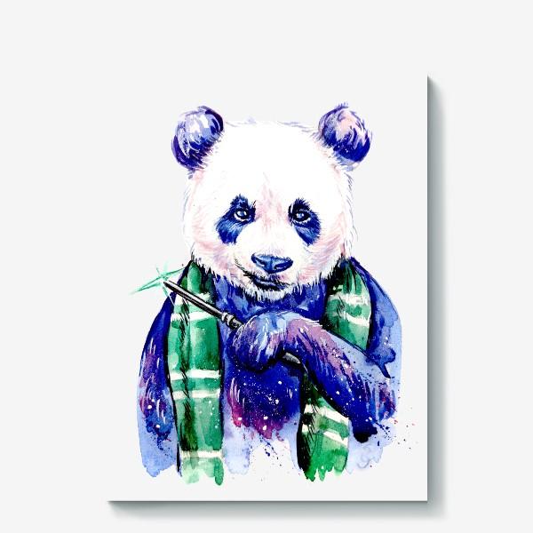 Холст «панда Драко»