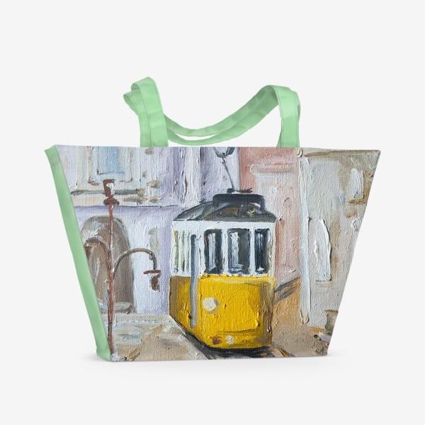 Пляжная сумка «Трамвай №28»
