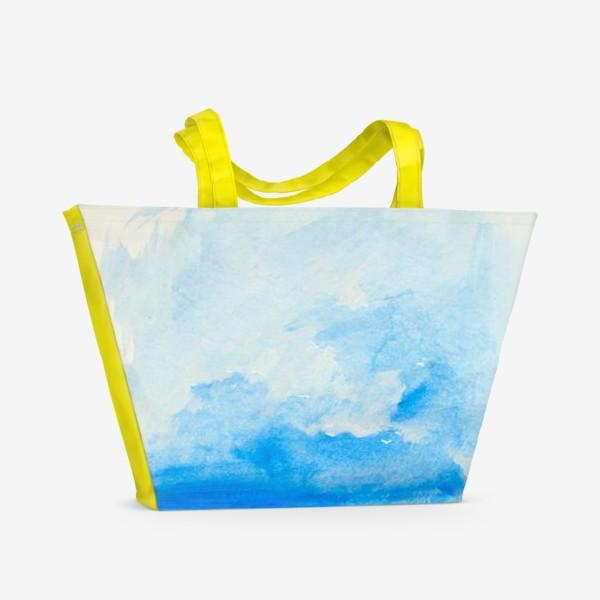 Пляжная сумка «Маковое поле»