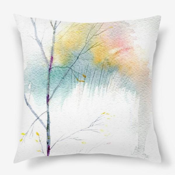 Подушка «Березка»