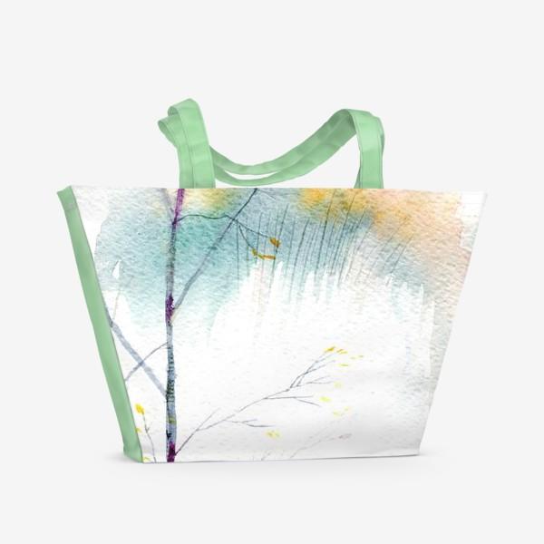 Пляжная сумка «Березка»