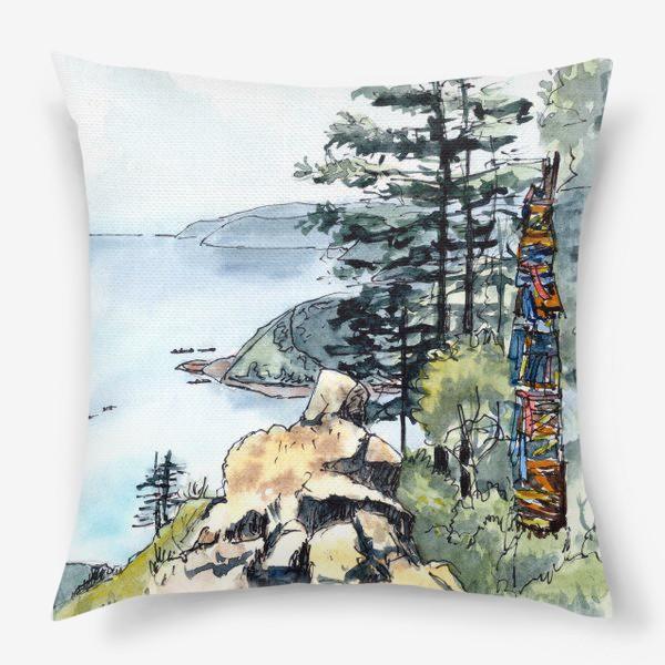 Подушка «Байкал»