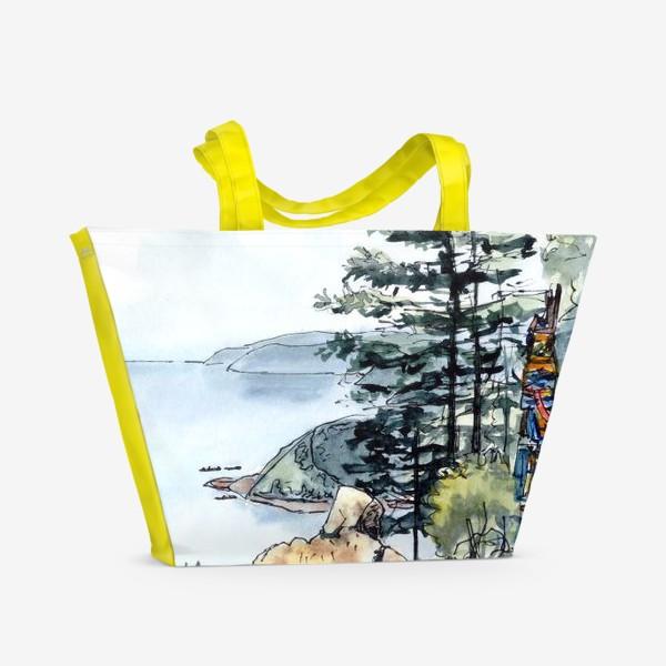 Пляжная сумка «Байкал»