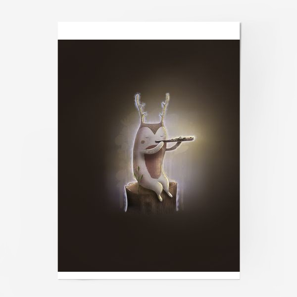 Постер «Лесной музыкант»