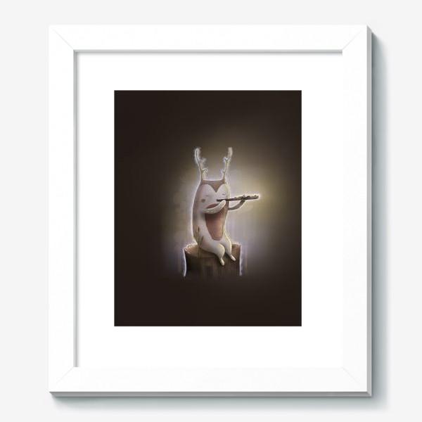 Картина «Лесной музыкант»