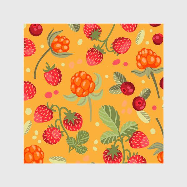 Шторы «Яркие лесные ягоды»