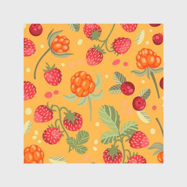 Скатерть «Яркие лесные ягоды»