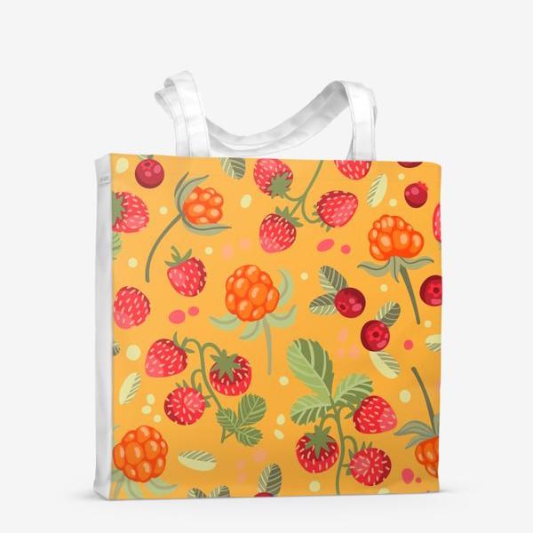 Сумка-шоппер «Яркие лесные ягоды»