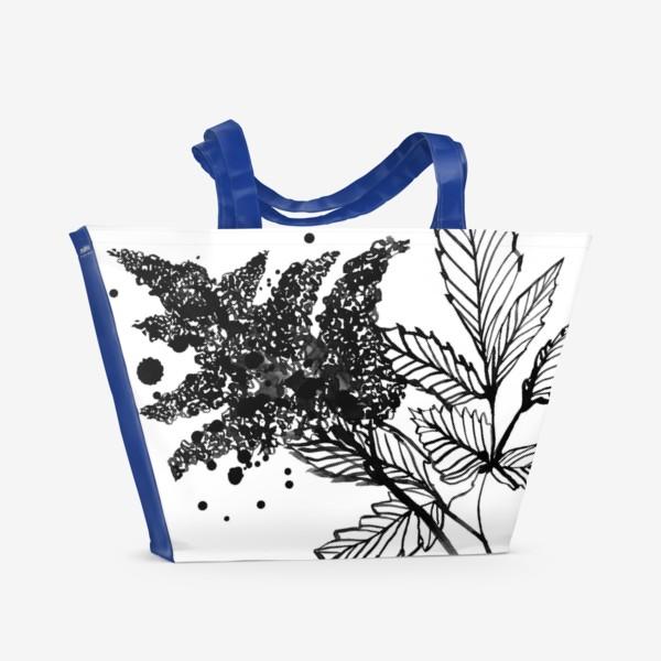 Пляжная сумка «Астильба»