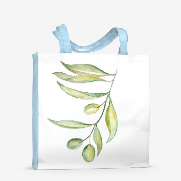 Сумка-шоппер «Оливковая ветвь. Сила природы.»
