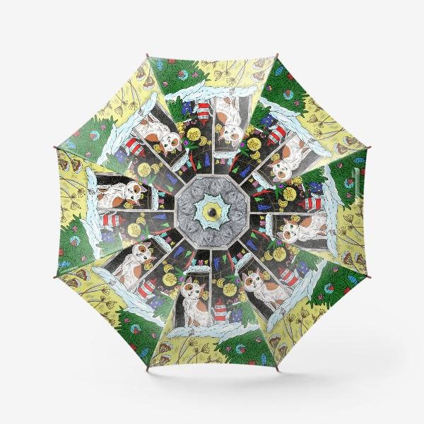 Зонт «Новый год»