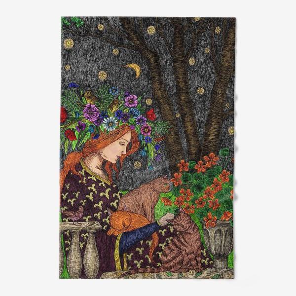 Полотенце «Летняя ночь в старом саду»