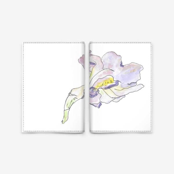 Обложка для паспорта «Ирис. Красота в каждой линии.»