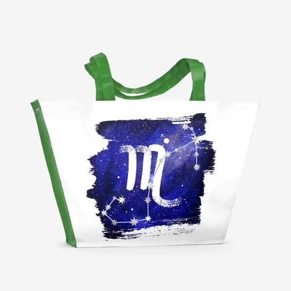 Пляжная сумка «Скорпион»