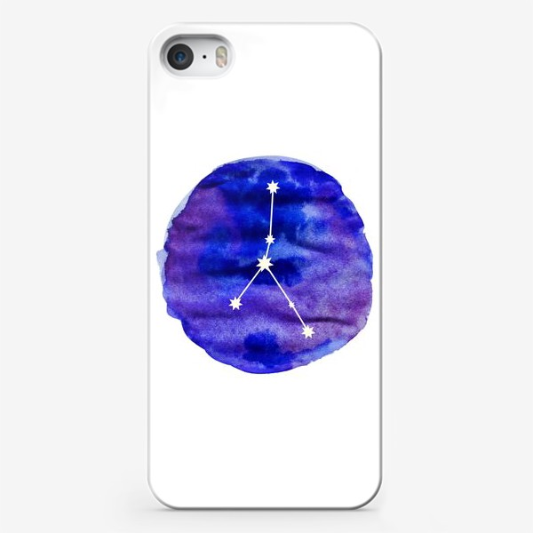Чехол iPhone «Рак. Акварель»