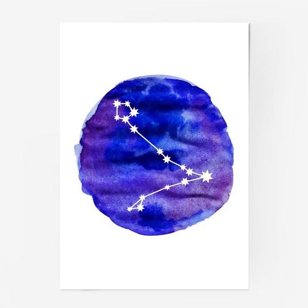 Постер «Рыбы. Акварель»