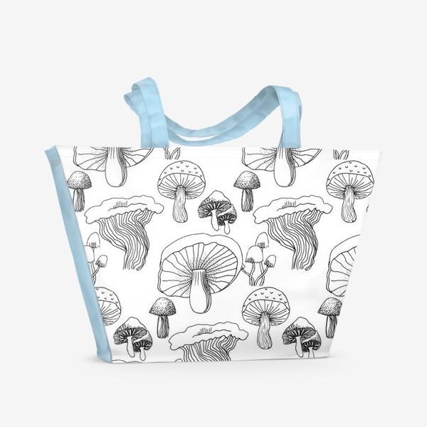 Пляжная сумка «Графика»