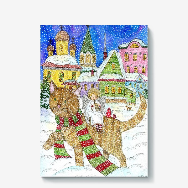 Холст «Новогодняя сказка»