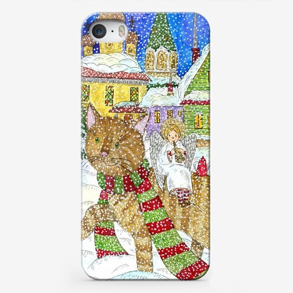 Чехол iPhone «Новогодняя сказка»