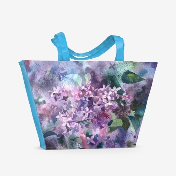 Пляжная сумка «Сирень»