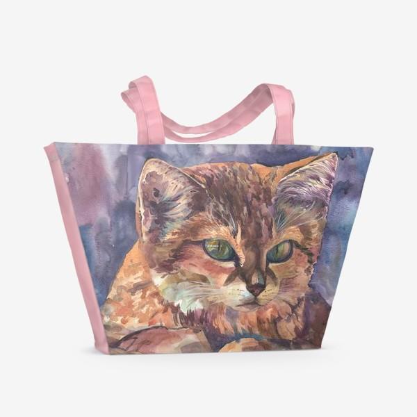 Пляжная сумка « Meow »