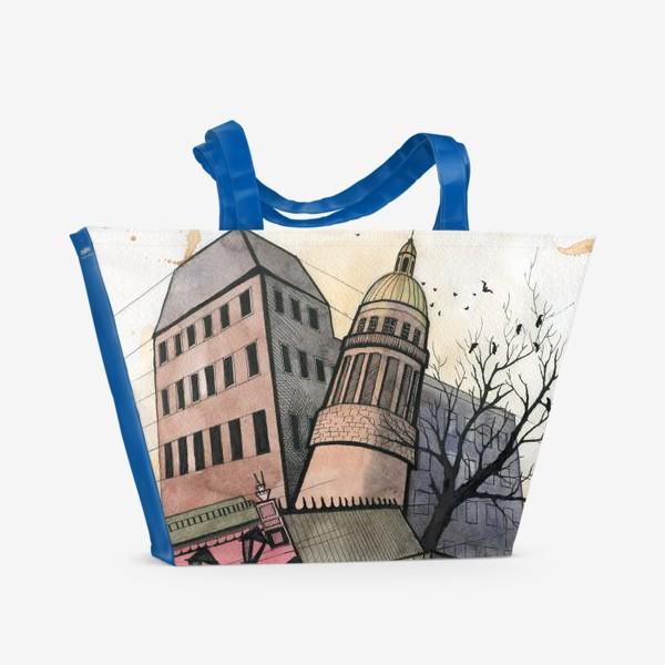 Пляжная сумка «В городе..»