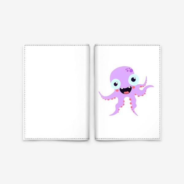 Обложка для паспорта «пятиножка»
