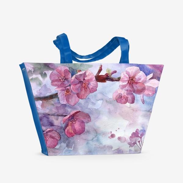 Пляжная сумка «Сакура»