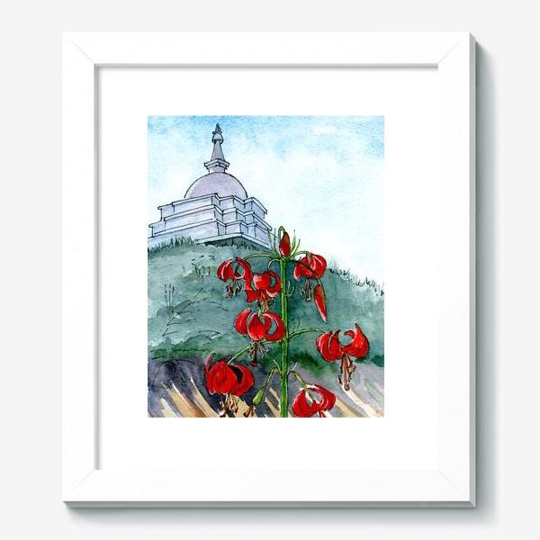Картина «Байкальские дикие лилии»