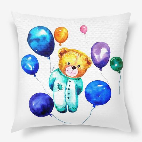 Подушка «Новорождённый мишка»