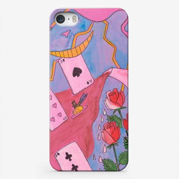 Чехол iPhone «Чаепитие в стране чудес»