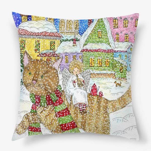 Подушка «Новогодняя сказка»