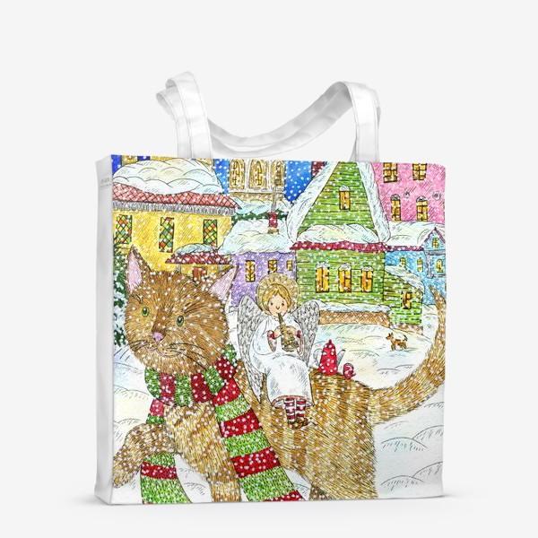 Сумка-шоппер «Новогодняя сказка»
