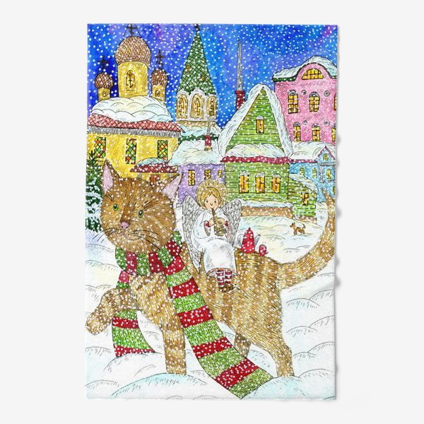 Полотенце «Новогодняя сказка»