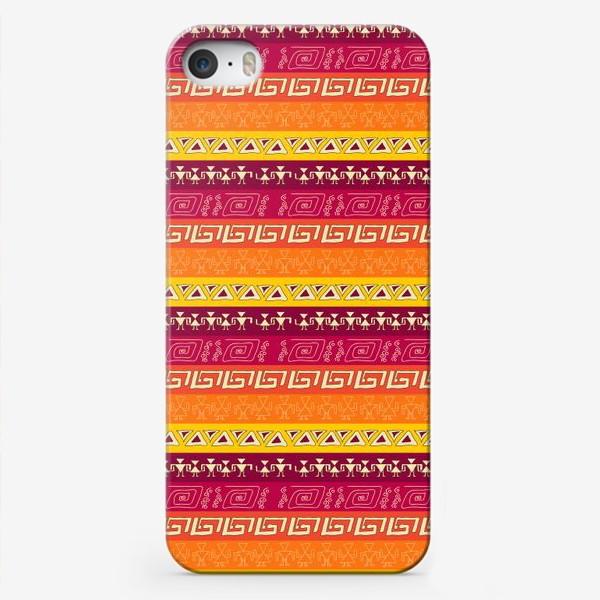 Чехол iPhone «иероглифы»