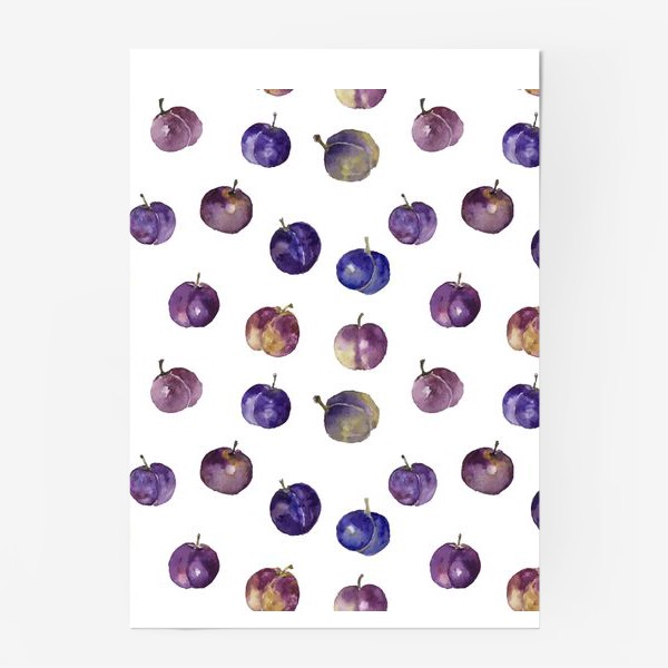 Постер «Сочные сливки»