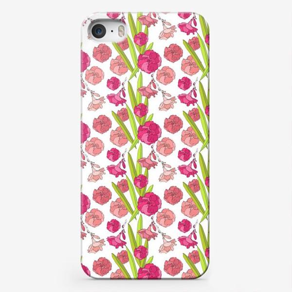 Чехол iPhone «Цвето4ки»