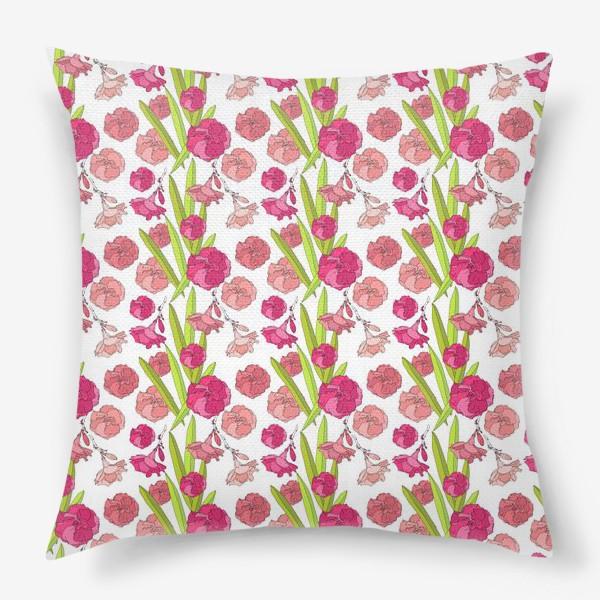 Подушка «Цвето4ки»