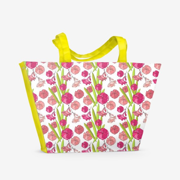 Пляжная сумка «Цвето4ки»