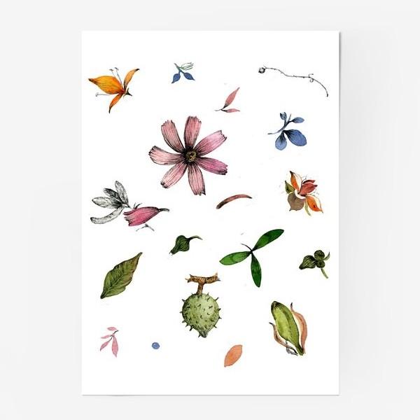 Постер «Летний паттерн»
