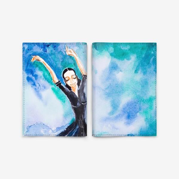 Обложка для паспорта «На седьмом небе»